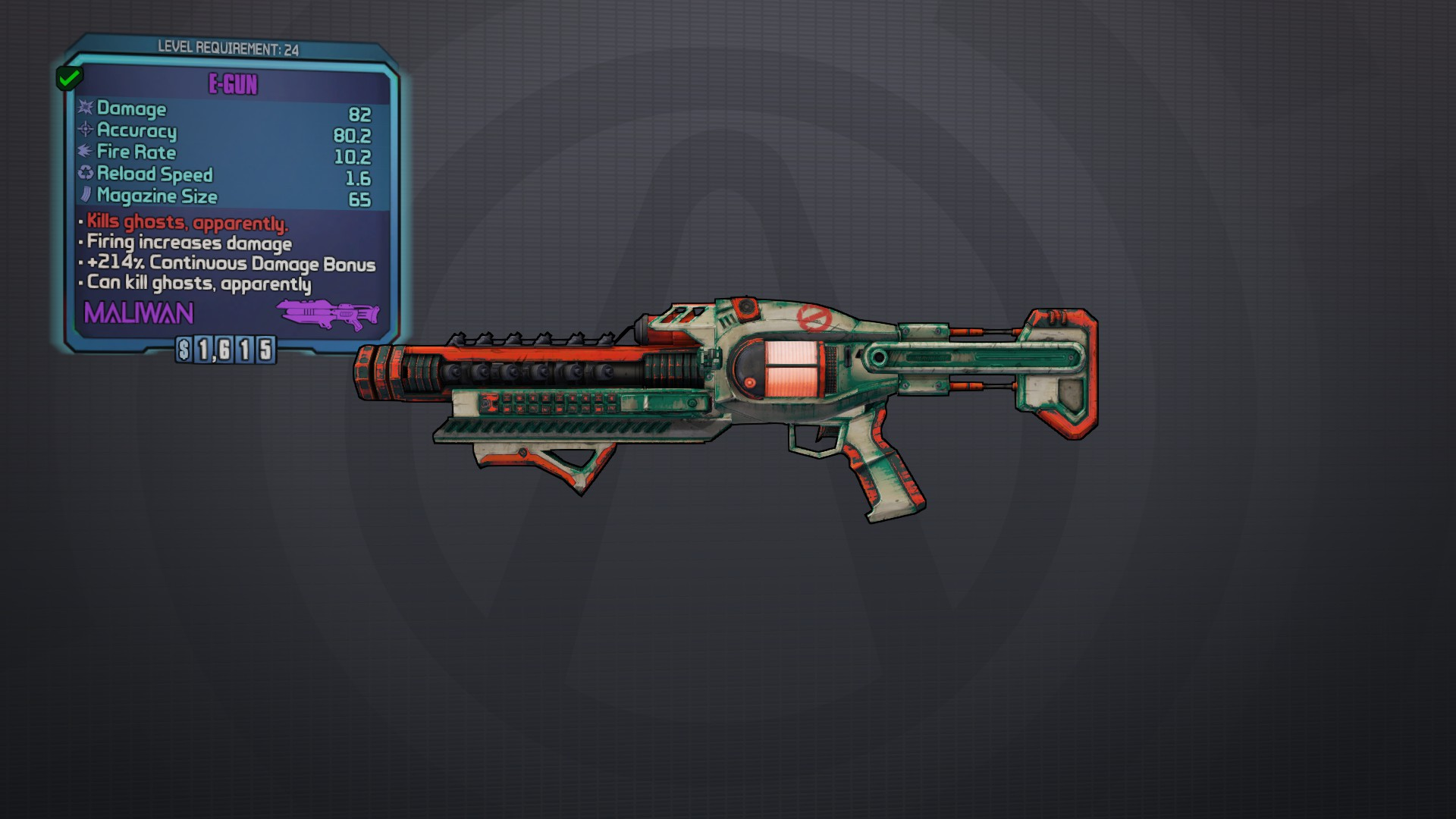 Borderlands Weapon Editor