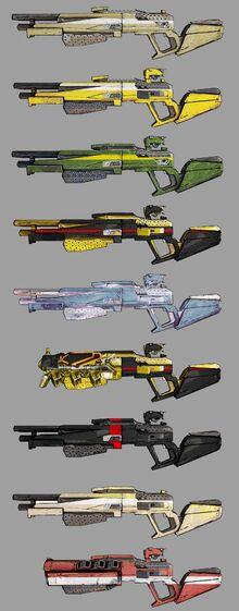 Hyperion Shotguns Range 1