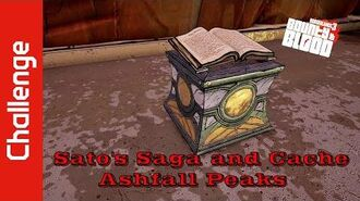 Sato's Saga and Cache (Ashfall Peaks)