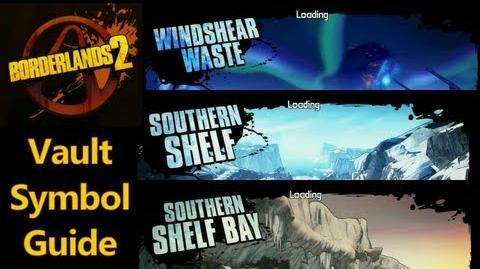 Пустошь Ледяных ветров, Южный шельф, Залив Южного шельфа - Символы Хранилища