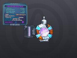 L61 Dashing Shock Spike Shield
