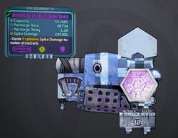 Torgue manned up explosive spike shield