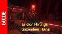 Tanzendeer Ruins Eridian Writings