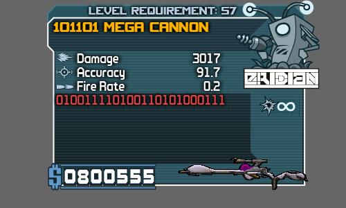 101101 Mega Cannon