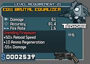 Brutal equalizer 21