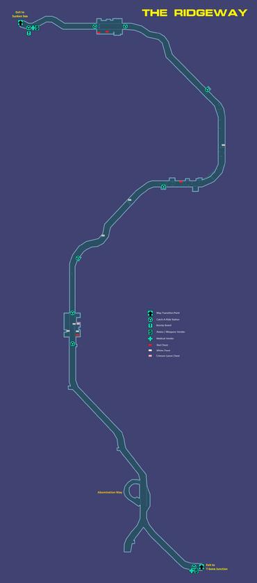 Ridgeway map
