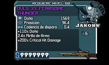 DVL5 XX Fearsome Thunder