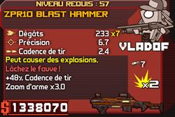 ZPR10 Blast Hammer