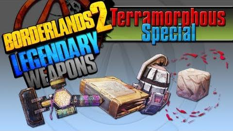 BORDERLANDS 2 *Terramorphous Special* Legendary Weapons Guide