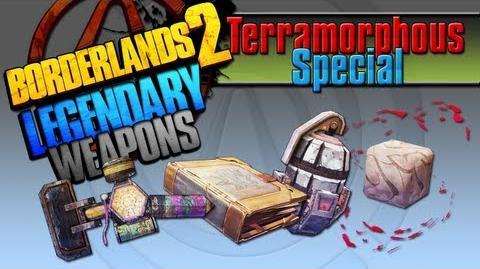 BORDERLANDS 2 *Terramorphous Special* Legendary Weapons Guide