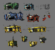 Borderlands2 vehicle borderlands2 vehicle container sketches by kevin duc by kevin duc