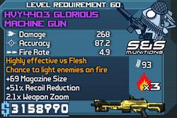 HVY440.3 Glorious Machine Gun (Draco) OBYC
