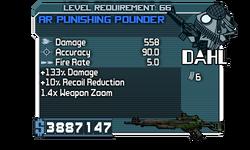 AR Punishing Pounder 558