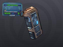 LV 29 Lobbed Shock Grenade