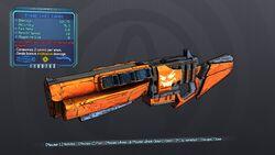 Straight Jack-o'-Cannon 70 Blue Explosive