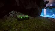 Зеленый сундук Даль закрытый
