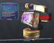 BorderlandsPreSequel шустрый щит (26) фиолет.
