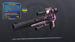 Consumes 2 ammo per shot, Two Fer Maggie 57 Orange None