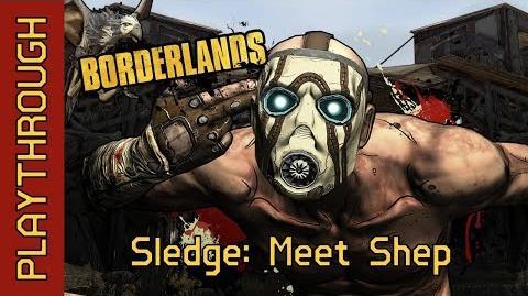 Sledge Meet Shep