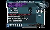 PPZ470D Desert Penetrator 66