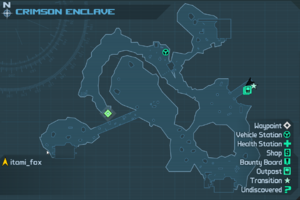 Map CrimsonEnclave