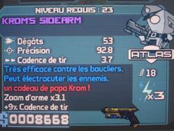 Krom's Sidearm 2