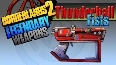 Borderlands 2 легендарные пушки 20 Thunderball Fists(Громовержец)
