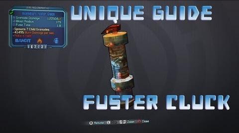 Borderlands 2 Unique Weapon Guide- Fuster Cluck
