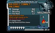 DVL550 C Cobalt Volcano