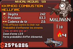 KKA400 Combustion Hellfire