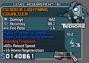Lightning equalizer 40