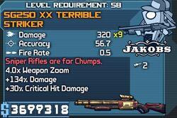 SG250 XX Terrible Striker