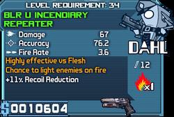Blr u incendiary repeater