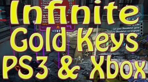 INFINITE Golden Keys On PS3 & XBOX!