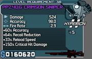 Crimson sniper 38