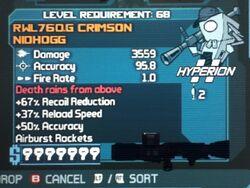 RWL760.G CRIMSON NIDHOGG