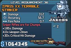 Terrible striker 312x9