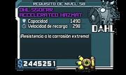 DHL-550FRR Accelerated Hazmat Shield