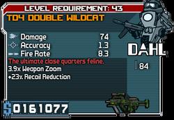 TD4 Double Wildcat