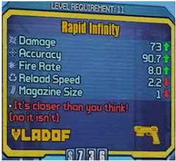 Infinity BL2