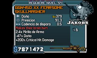 GGN490 Solid Skullmasher