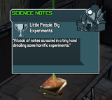 Little People, Big Experiments