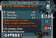 Rf340 burning wildcat 48