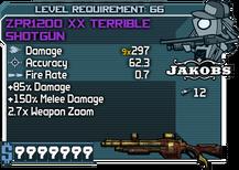 ZPR1200 XX Terrible Shotgun happypal