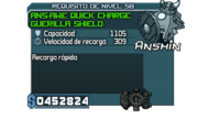 ANS-AWE Quick Charge Guerilla Shield