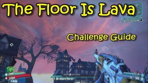 Borderlands 2 - Mines Of Avarice - The Floor Is Lava - Challenge Guide