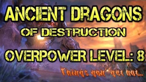 Ancient Dragons Raid Boss Overpower Level 8 Borderlands 2