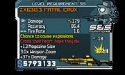 ZX630.3 Fatal Crux