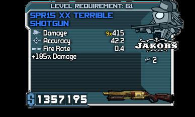 SPR15 XX Terrible Shotgun
