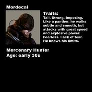 Mordecai Bio